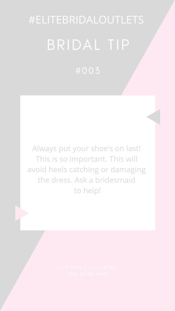 Bridal Tip 4