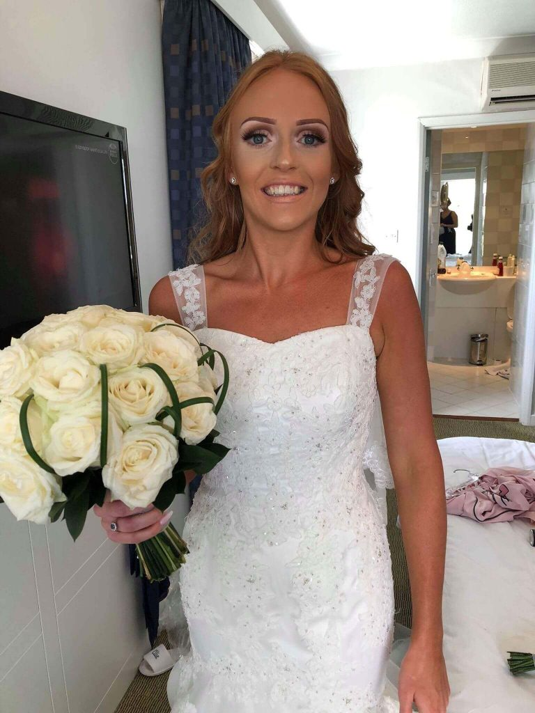 Congratulations to Rebecca and her partner