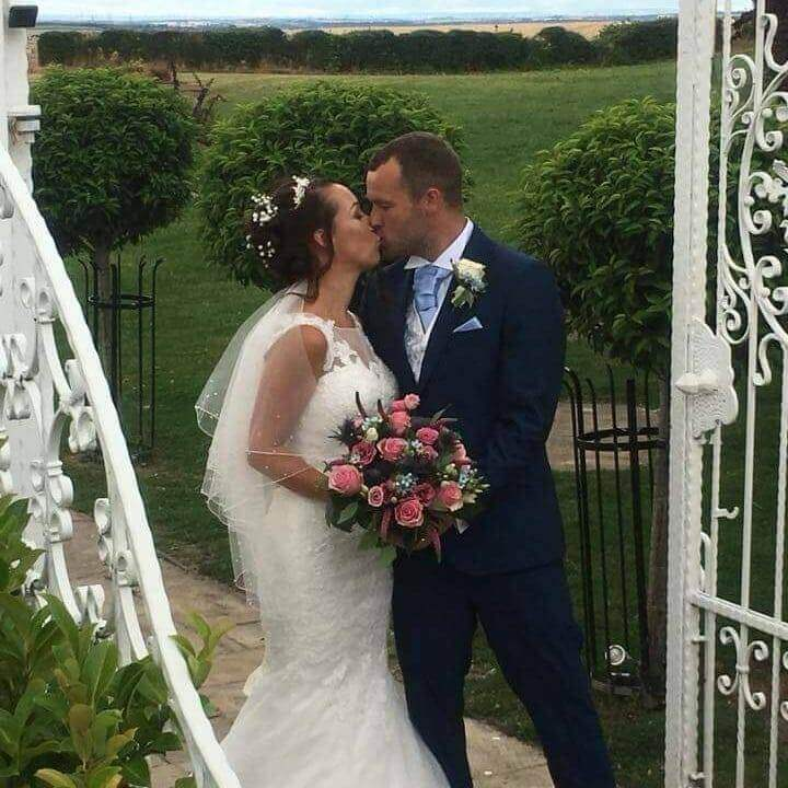 Congratulations to Vicky & Her Husband