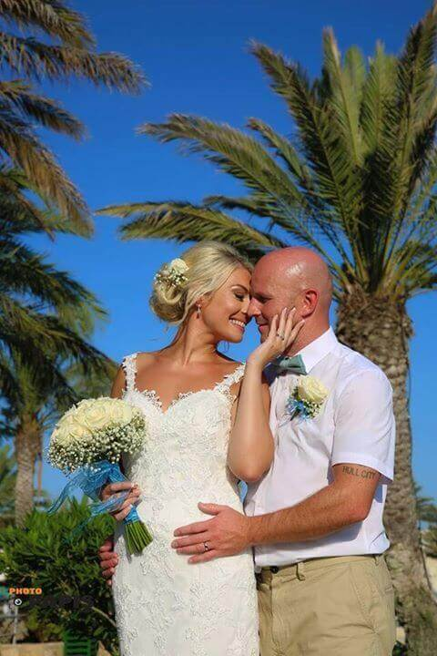 Congratulations Laura and her husband