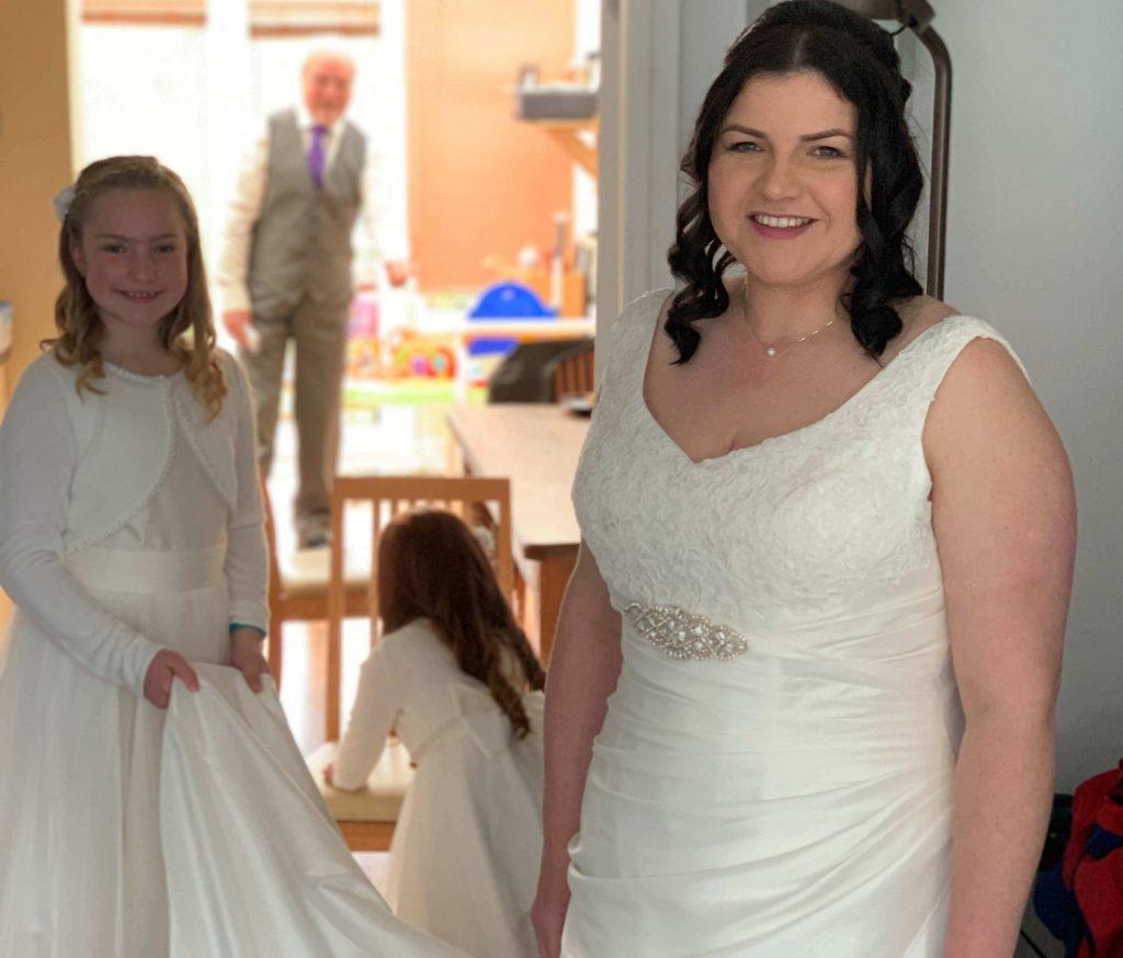 A wedding worth the wait…