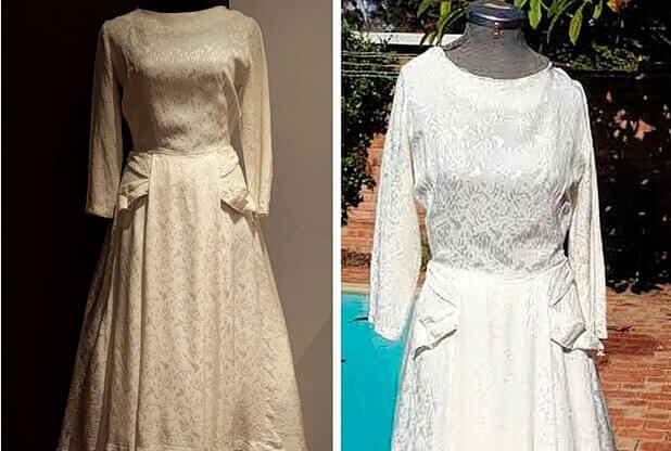 House of Mirelle Dress from Hull found in Australia