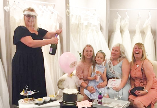 vip appointment at elite bridal