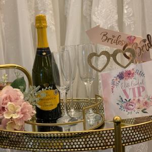 bridal appointment prosecco
